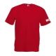 Maglietta manica corta, rossa, fronte