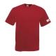 Maglietta manica corta, rosso mattone, fronte