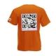 U-shirt arancio - retro
