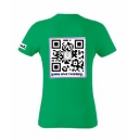 Maglietta manica corta, verde bandiera, retro